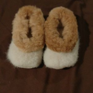 Other - Alpaca baby slippers.